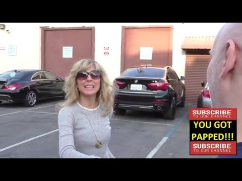 Marla Maples at Dancing With The Stars Rehearsal Studios in Hollywood
