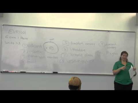 Broward College North Campus | EVR1001 Review | Prof. Eisenberg