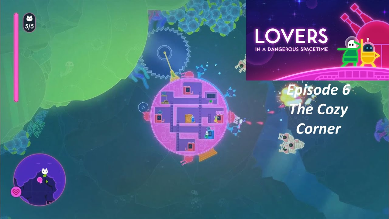 Lovers In A Dangerous Spacetime Episode 6 Getting Cozy With