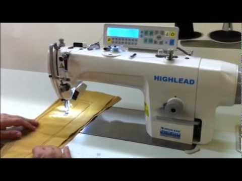 GC40MDZ High Speed Direct Drive Lockstitch Sewing Machine With Unique Primex Sewing Machine