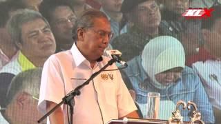 Ucapan Penuh CM Adenan Sempena Perasmian Pembinaan Pan Borneo Sarawak Telok Melano - Sematan