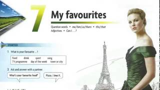 Gambar cover Unit 7 My favourites - New Headway 4th Edition Beginner Student's Book