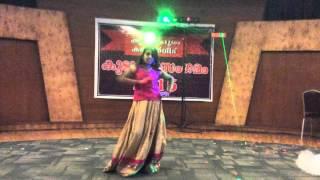 C H Niranjana Dancing.. Aaja nachle nachle mere yaar...