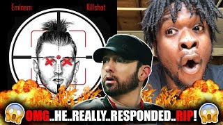 Eminem - Killshot (Machine Gun Kelly Diss) REACTION!