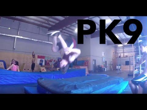 Parkour At The Gym 9 [CRAZY BACKFLIP LINE]