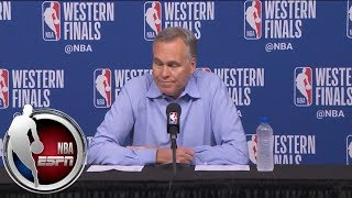 [FULL] Mike D'Antoni gives update on Chris Paul's hamstring injury after Game 5 win | NBA on ESPN