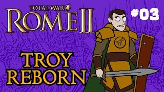 Total War: Rome 2 - Troy Reborn - Part 3 - War with the Seleucids!