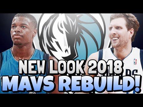 DALLAS MAVERICKS 2018 REBUILD!! THE DENNIS SMITH JR ERA!!