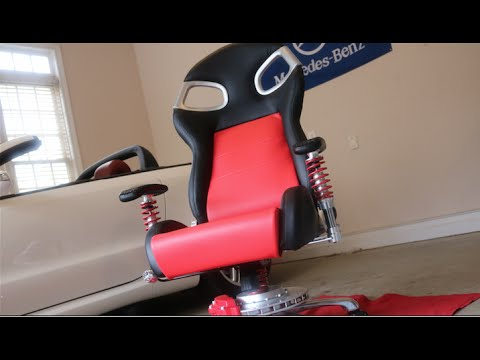 Pitstop Lxe Race Inspired Office Chair Youtube