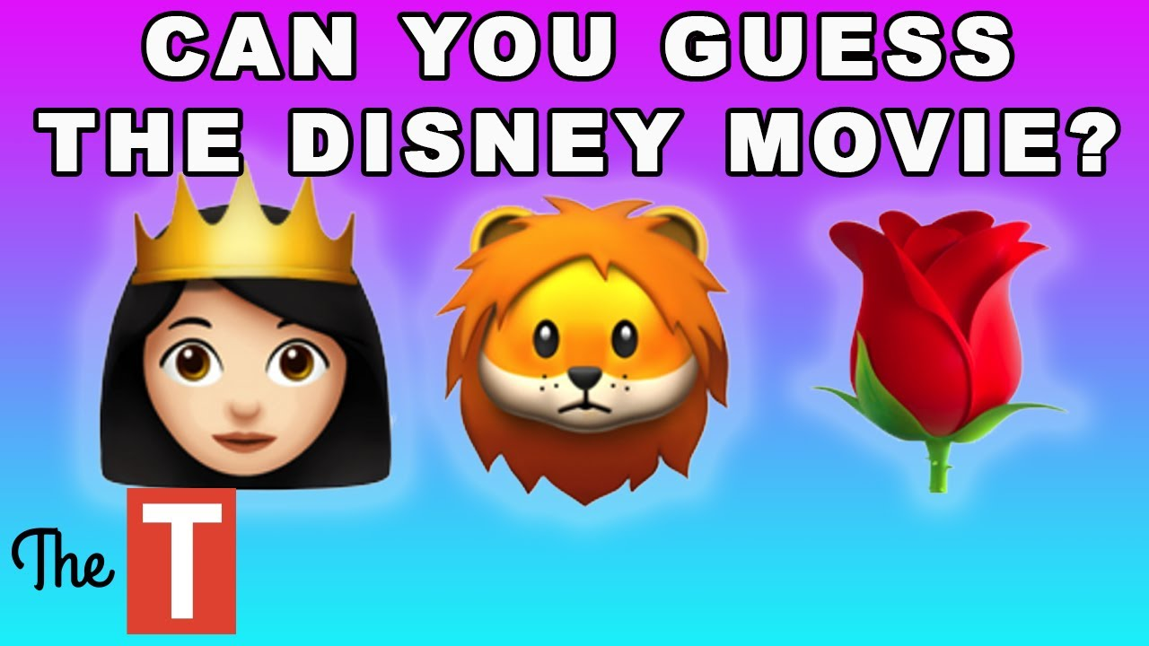 Can You Guess The Disney Movie From The Emojis?