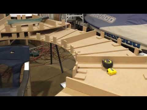 Slot Car Track Build Update