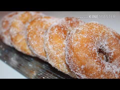 beignet au sucre moelleux et facile - Donut mit Zucker- بيني اقتصادي وسهل التحضير