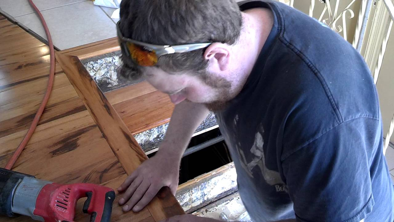 How To Replace Stair Treads In A Staircase Part 2
