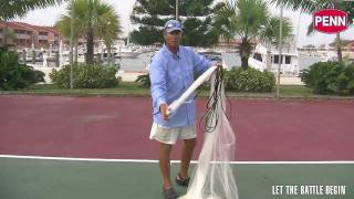 How To Throw A Cast Net ( Step by Step Instructions )