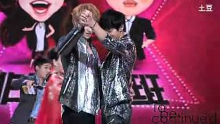 fancam 120627 kris tao taoris dancing at fei chang bu yi ban
