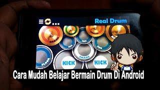 cara bermain drum di android