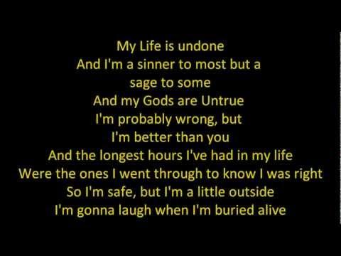 Slipknot - Sulfur (lyrics)