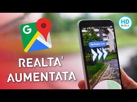 Google Maps in REALTÀ AUMENTATA è UNA FIGATA!