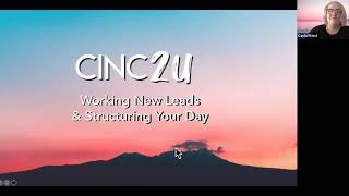 CINC Live Webinar: Managing Your Dashboard for Success | May 26, 2020
