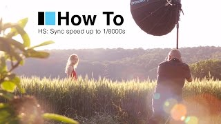 Broncolor 'How To' shoot High Speed Sync flash with a DSLR