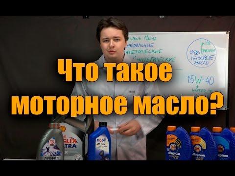 Из чего состоит моторное масло? ГСМщики #1