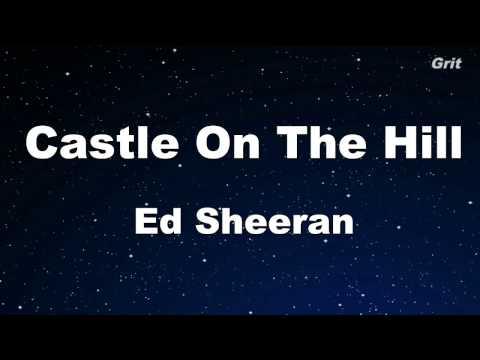 Castle On The Hill - Ed Sheeran Karaoke 【No Guide Melody】 Instrumental