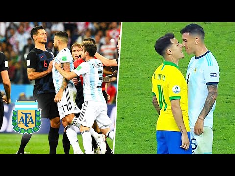 😡Así Los Jugadores Pierden el Control y la Cabeza (SELECCION ARGENTINA)►Messi pelea😡
