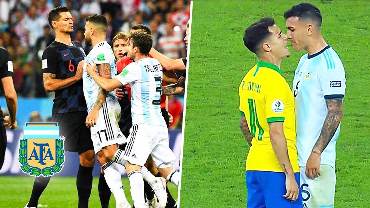 Download 😡Así Los Jugadores Pierden el Control y la Cabeza (SELECCION ARGENTINA)►Messi pelea😡