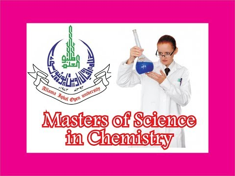 Allama Iqbal Open University, AIOU M.Sc Chemistry, Masters of Science in Chemistry