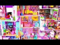 8 DIY Miniature Dollhouses ~ Disney Princess Dollhouse, Shoebox, Etc.