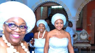 Regina Daniels Is Initiated Into Delta State Married Women Group As Ned Nowoko's Wife