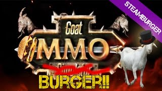 SteamBurger: Goat MMO Simulator: Clase Mago - (Gameplay en Español)