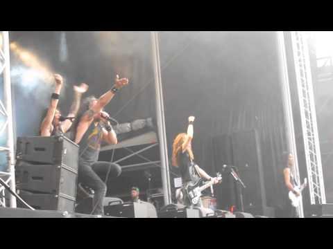 Death Angel - 3rd Floor *Live* @ Dynamo Metalfest, Eindhoven, 18.07.2015