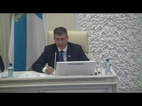 Депутат Архангельского облсобрания Дятлов о законопроекте Таскаева