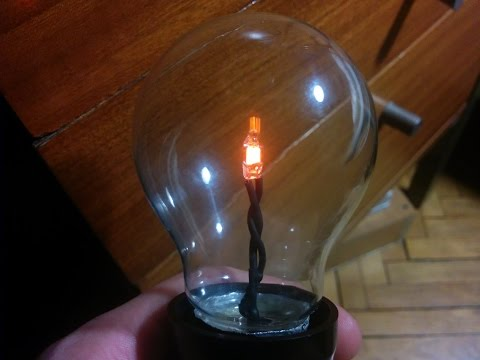 {DIY} Decorative light bulb