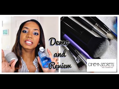 REVIEW & DEMO   Cinema Secrets Makeup Brush Cleaner   WORTH IT??!!