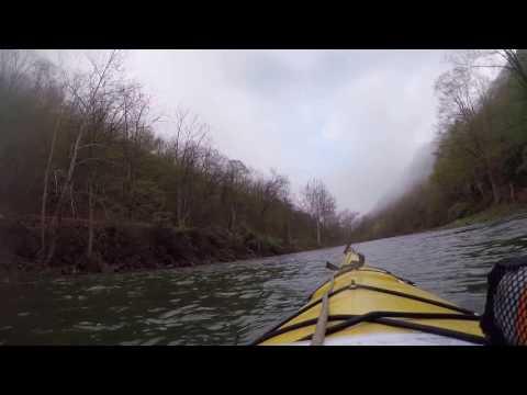 Part I at twice actual speed: Canyon Man 100 Kayaking 19 miles in Pine Creek Gorge