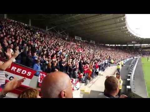 Man united at Hull Away 2015