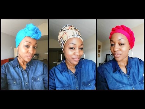 How To Tie Head Wrap