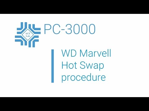 PC-3000 for HDD. Hot-Swap procedure on WD Marvell drives