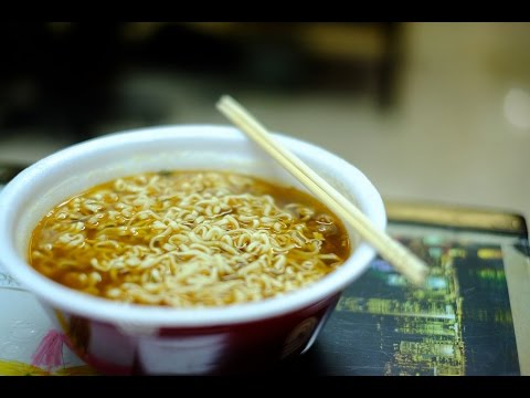Суп из лапши быстрого