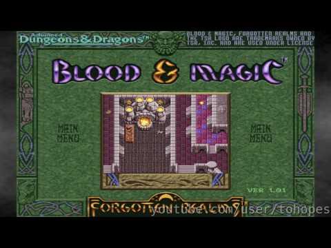 Blood & Magic - Sound Canvas music - 7076 - Hall of Wonder