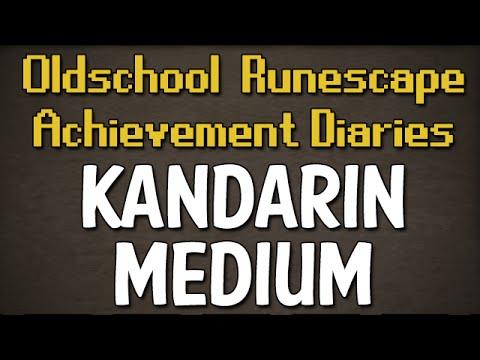 Kandarin Medium Achievement Diary Guide | Oldschool Runescape