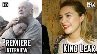 Florence Pugh on the Perfect Cup of Tea & working with Zorro star Anthony Hopkins in King Lear