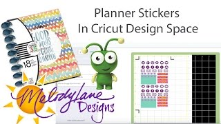 How to make Planner Stickers on the Cricut Explore