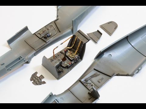 How to paint cockpit bf-109 1/48 Eduard. For beginners.