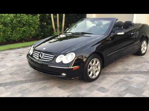 2004 Mercedes Benz CLK320 Convertible Review and Test Drive by Bill - Auto Europa Naples