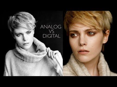 FASHION PHOTOGRAPHY SHOOTOUT - Film vs Digital