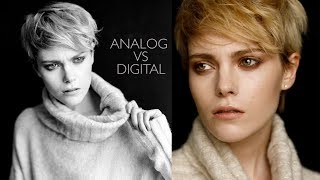 FASHION PHOTOGRAPHY SHOOTOUT - Film vs Digital