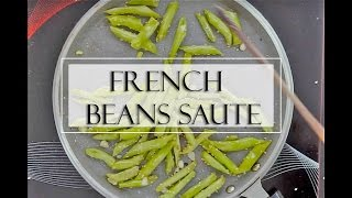 Light Yet Filling Salad Recipe: French Beans Sesame Saute by Truweight